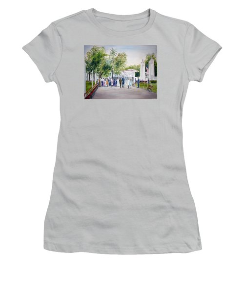 White City Women's T-Shirt (Athletic Fit)