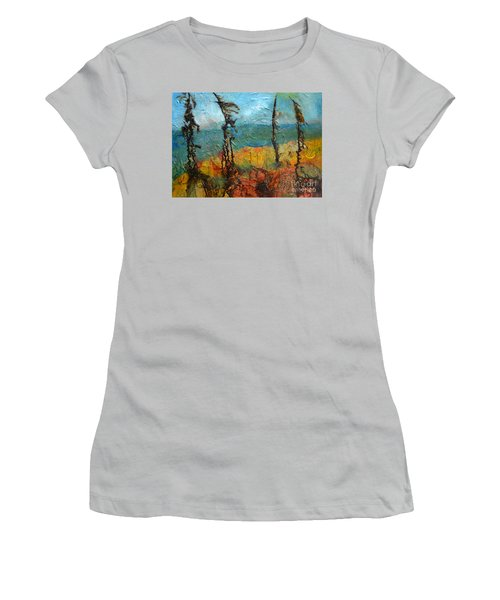 Windswept Pines Women's T-Shirt (Athletic Fit)