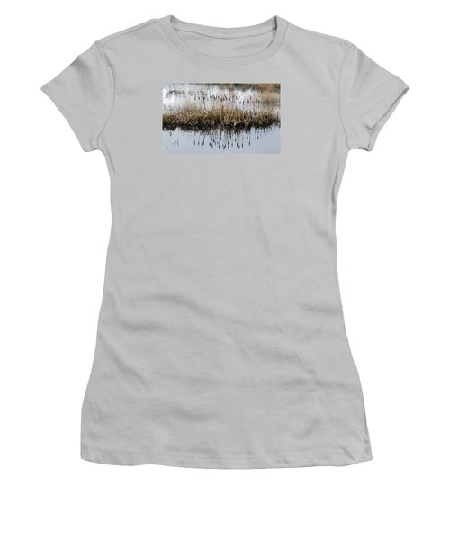 Women's T-Shirt (Junior Cut) featuring the photograph Winter Bouquet by I'ina Van Lawick