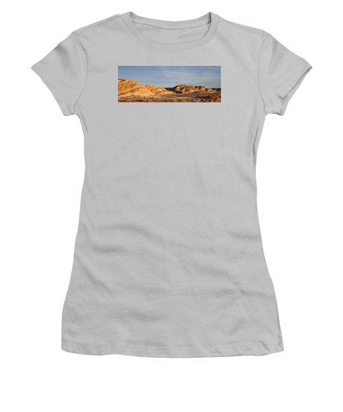 Women's T-Shirt (Junior Cut) featuring the photograph Ziebriski Point by Hugh Smith