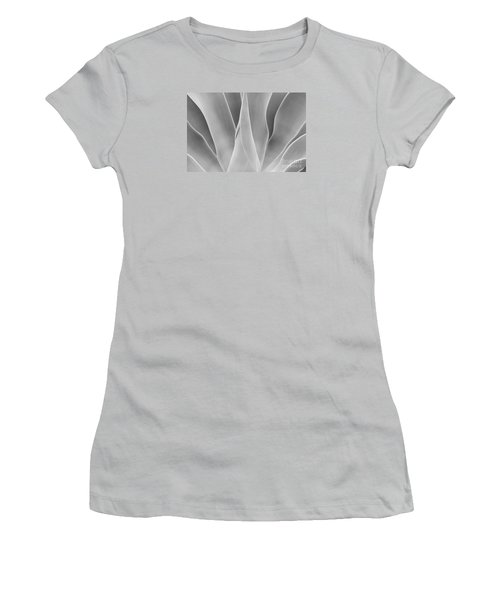 Women's T-Shirt (Athletic Fit) featuring the photograph Agave Waves   by John F Tsumas