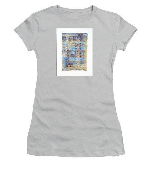 01334 Over Women's T-Shirt (Junior Cut) by AnneKarin Glass