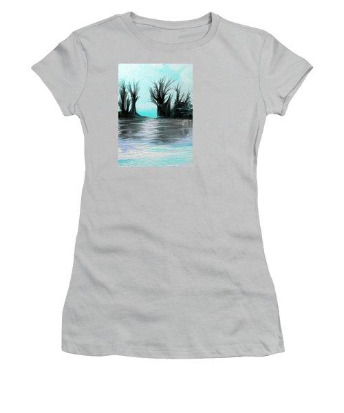 Art Abstract Women's T-Shirt (Junior Cut) by Sheila Mcdonald