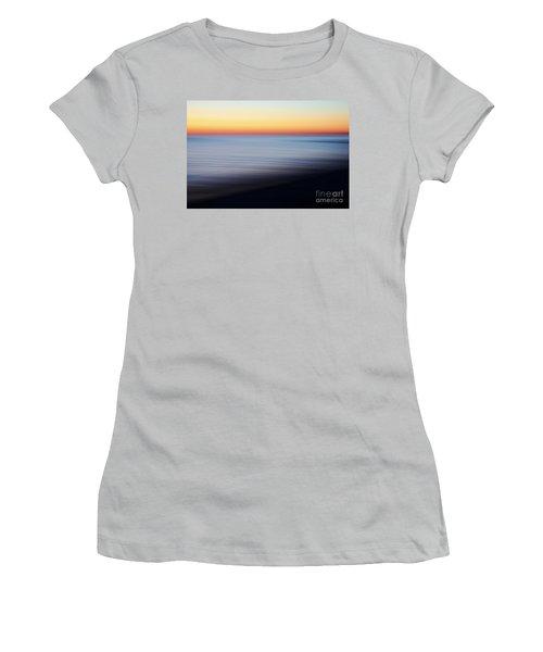 Abstract Sky Women's T-Shirt (Junior Cut) by Tony Cordoza