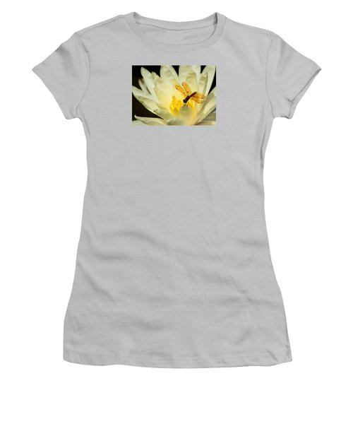 Amber Dragonfly Dancer 2 Women's T-Shirt (Athletic Fit)