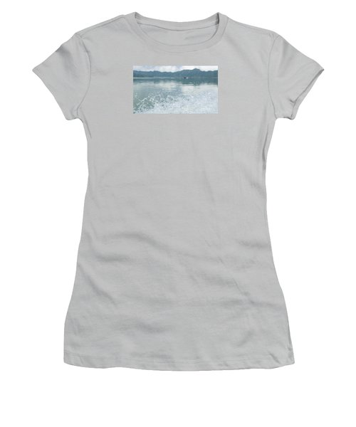 Bali River  Women's T-Shirt (Junior Cut) by Nora Boghossian