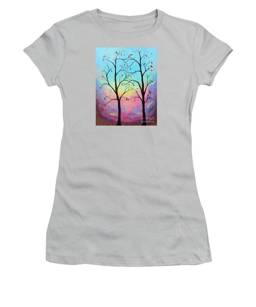 Branching Out Women's T-Shirt (Junior Cut) by Stacey Zimmerman