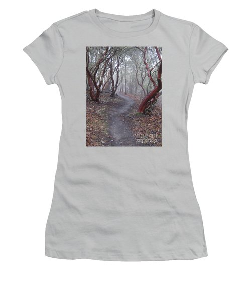 Cathedral Hills Serenity Women's T-Shirt (Junior Cut) by Marie Neder