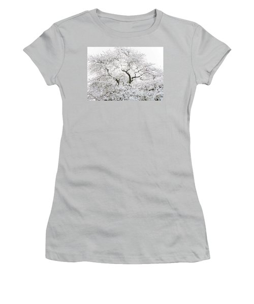 Cherry Blossoms Women's T-Shirt (Athletic Fit)