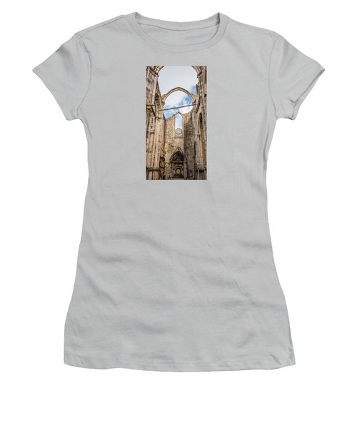 Church At Carmo Convent Women's T-Shirt (Athletic Fit)