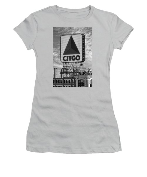 Citgo Sign Kenmore Square Boston Women's T-Shirt (Athletic Fit)