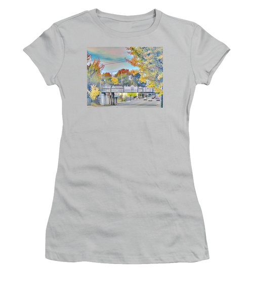 Cooper Young Trestle Women's T-Shirt (Athletic Fit)