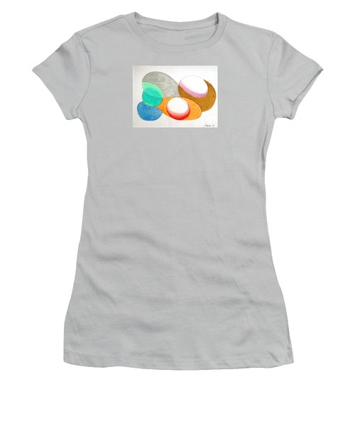 Women's T-Shirt (Junior Cut) featuring the photograph Curves And Things by Rod Ismay
