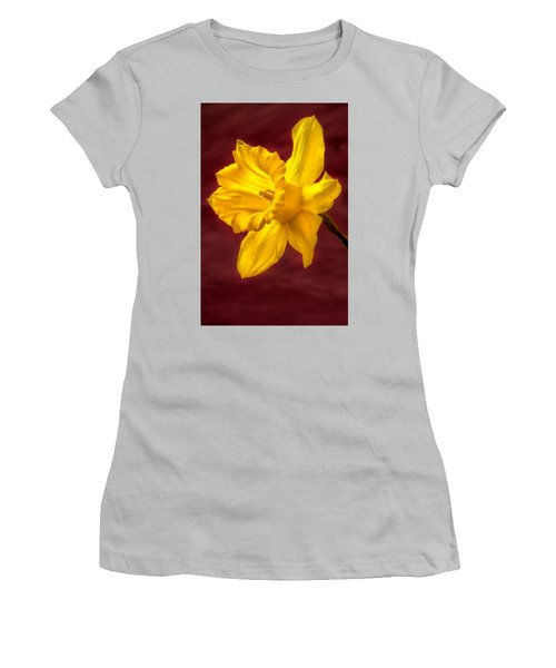 Daffodil Glow Women's T-Shirt (Athletic Fit)