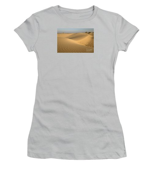 Women's T-Shirt (Athletic Fit) featuring the photograph Desert by Yew Kwang