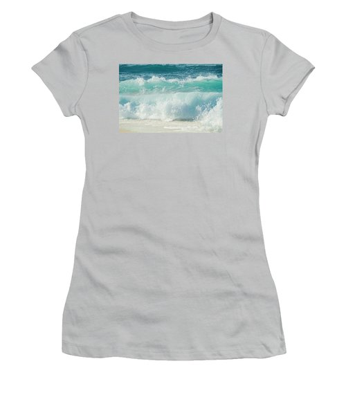 Women's T-Shirt (Athletic Fit) featuring the photograph Eternity In A Moment by Sharon Mau