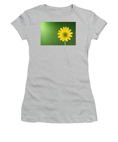 Flower Women's T-Shirt (Junior Cut) by Bess Hamiti