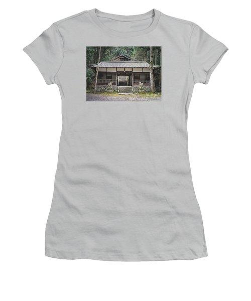 Forrest Shrine, Japan Women's T-Shirt (Athletic Fit)
