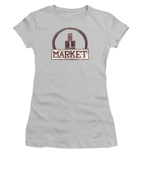 Going To The Market Women's T-Shirt (Athletic Fit)