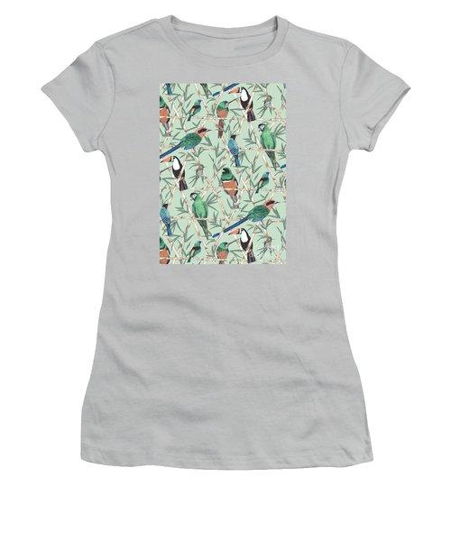 Menagerie Women's T-Shirt (Junior Cut) by Jacqueline Colley