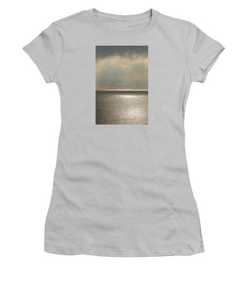 Not Quite Rothko - Twilight Silver Women's T-Shirt (Junior Cut) by Serge Averbukh