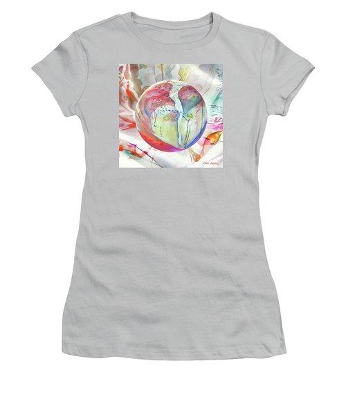 Orbiental Expression Women's T-Shirt (Junior Cut) by Robin Moline