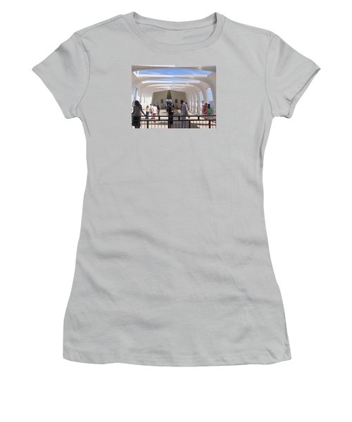 Pearl Harbor Remembered Women's T-Shirt (Athletic Fit)
