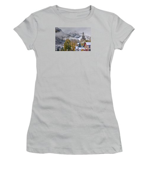 Silverton Colorado Women's T-Shirt (Athletic Fit)