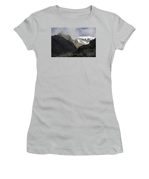 Somewhere In New Zealand Women's T-Shirt (Athletic Fit)