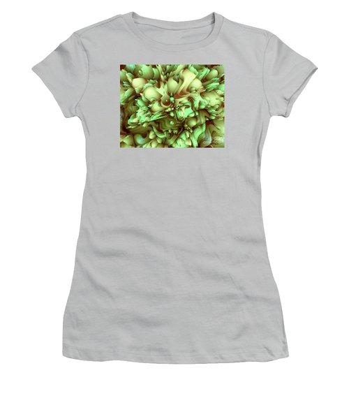 Sweet Flowers Women's T-Shirt (Junior Cut) by Moustafa Al Hatter