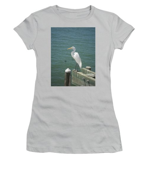 Tranquility Women's T-Shirt (Junior Cut) by Val Oconnor