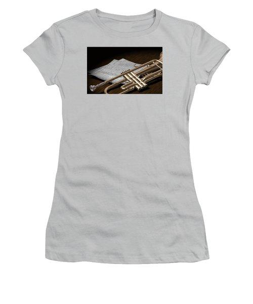 Trumpet Women's T-Shirt (Athletic Fit)