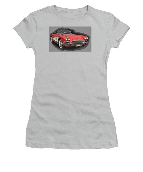 Vette Women's T-Shirt (Athletic Fit)