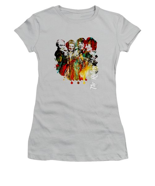The Rolling Stones Collection Women's T-Shirt (Athletic Fit)
