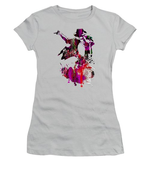 Michael Jackson Collection Women's T-Shirt (Athletic Fit)