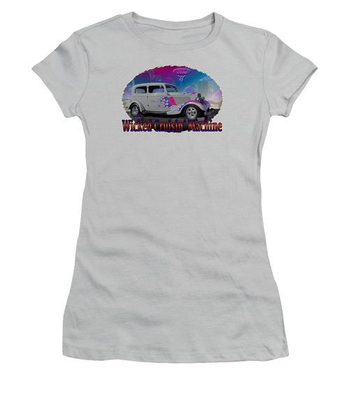 1934 Ford Delux Women's T-Shirt (Athletic Fit)