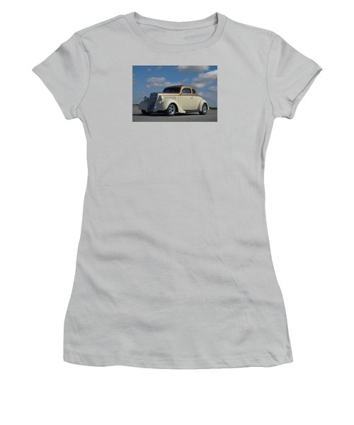 1935 Ford Coupe Hot Rod Women's T-Shirt (Junior Cut) by Tim McCullough