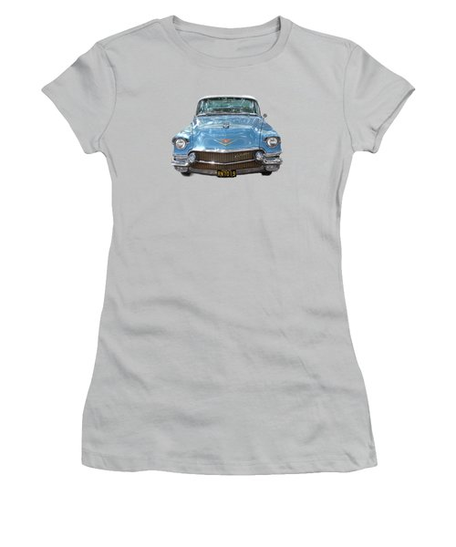 1956 Cadillac Cutout Women's T-Shirt (Athletic Fit)