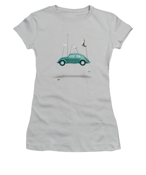 Cars  Women's T-Shirt (Junior Cut) by Mark Ashkenazi