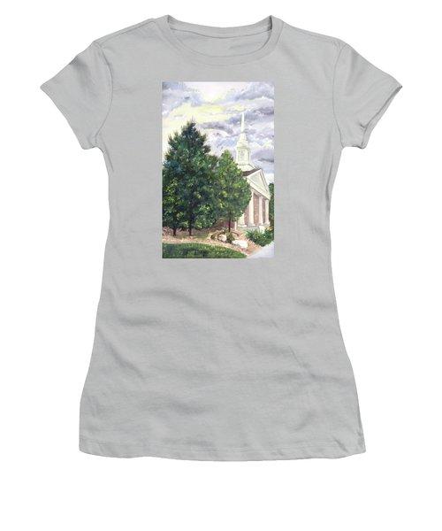 Hale Street Chapel Women's T-Shirt (Athletic Fit)