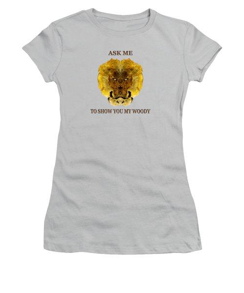 Woody 82 Women's T-Shirt (Junior Cut) by Rick Mosher