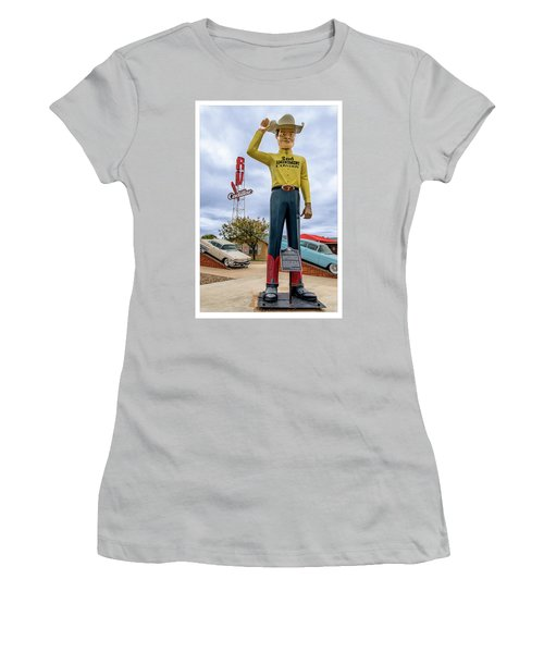 2nd Amendment Cowboy Women's T-Shirt (Athletic Fit)