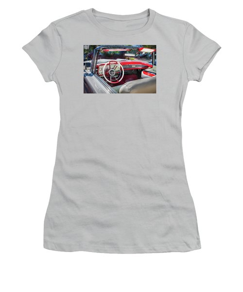 1959 Lincoln Continental Town Car Mk Iv Painted  Women's T-Shirt (Athletic Fit)