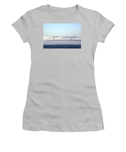 Kessock Bridge, Inverness Women's T-Shirt (Athletic Fit)