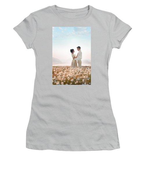 Regency Couple Women's T-Shirt (Athletic Fit)