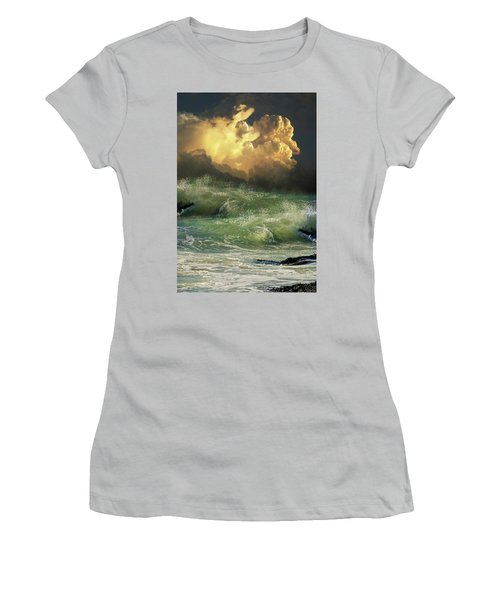 Women's T-Shirt (Athletic Fit) featuring the photograph 4449 by Peter Holme III