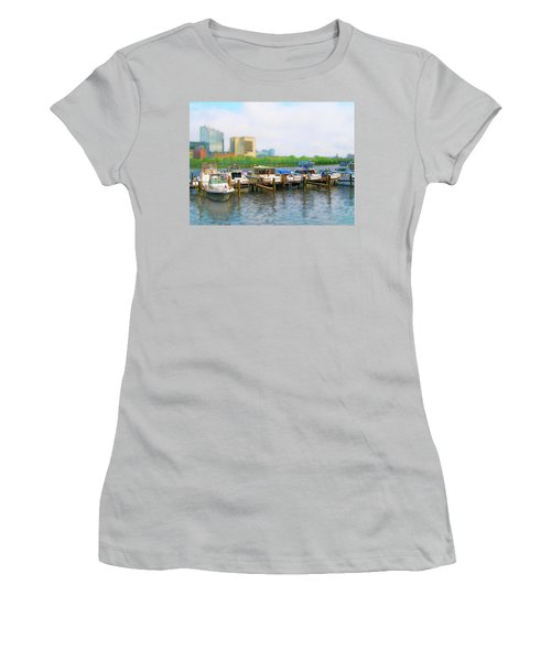 Women's T-Shirt (Athletic Fit) featuring the photograph 4455 by Peter Holme III