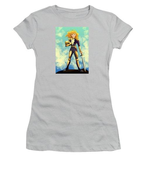 Tammy Wurtherington Freedom Fighter Women's T-Shirt (Junior Cut) by Reynold Jay