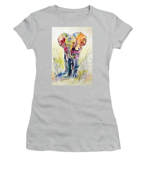 Elephant Women's T-Shirt (Junior Cut)