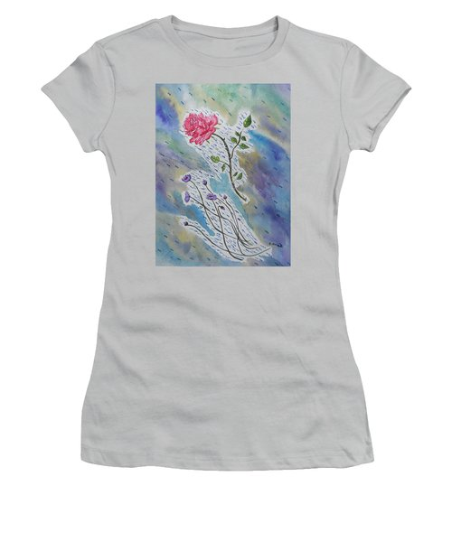 A Bit Of Whimsy Women's T-Shirt (Junior Cut) by Carol Crisafi